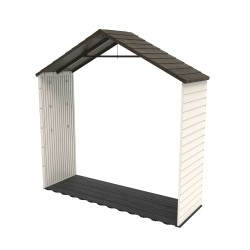 Lifetime 8 Ft X 2.5 Ft Outdoor Storage Shed Extension Kit (60142)