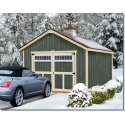 Best Barns Dover 12x24 Wood Garage Kit - All-Precut (dover_1224)