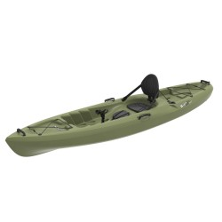Lifetime 11 Ft Sit-On-Top Weber 132 Angler Kayak - Light Olive (90609)