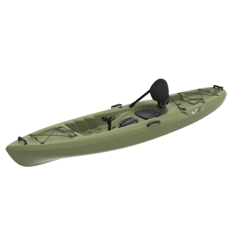 Lifetime 11 Ft Sit-On-Top Weber 132 Angler Kayak - Light Olive (90609)