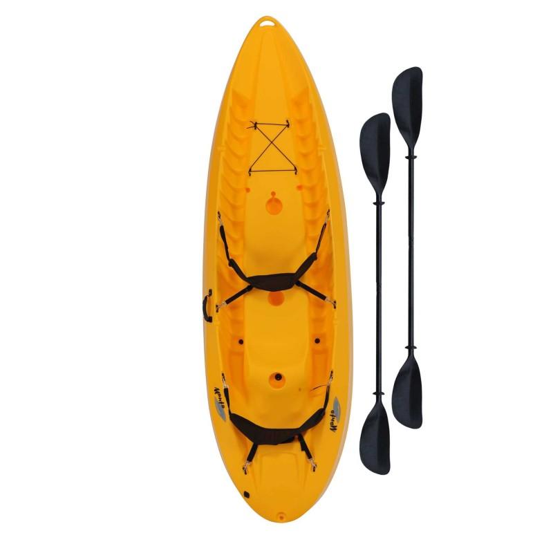 Lifetime 10 ft Sit-On-Top Tandem Kayak - Yellow (90118)