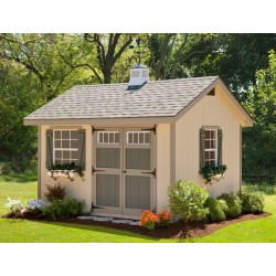 EZ-Fit Heritage 12x16 Wood Shed Kit (ez_heritage1216)