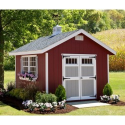 EZ-Fit Homestead 10x14 Wood Shed Kit (ez_homestead1014)