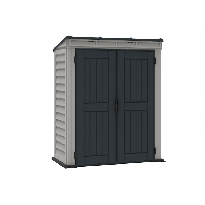 Duramax Yardmate 5x3 Pent Roof Plus Vinyl Storage Shed 05325