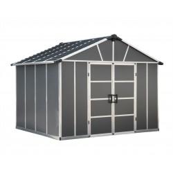 Palram Yukon 11x9 Storage Shed Kit Gray (HG9909SGY)
