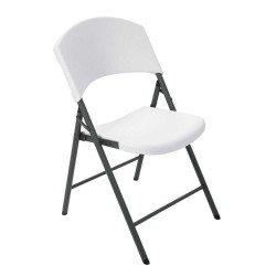 Lifetime 4 pack Commercial Folding Chair - White Granite (42810)