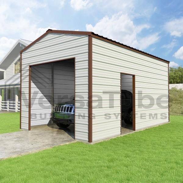 Versatube 12x20x10 Frontier Steel Garage Kit Fb0122010519