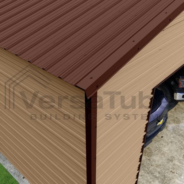 Versatube 24x24x10 Frontier Steel Garage Kit (FBM3242410616