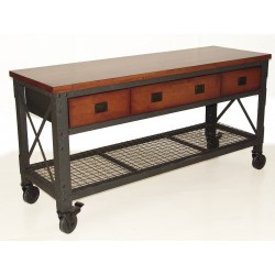"DuraMax 72""x24"" Rolling Workbench - 3 Drawers (68001)"