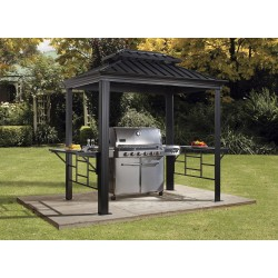Sojag 6x8 BBQ Messina Grill Gazebo Kit (500-9162875)