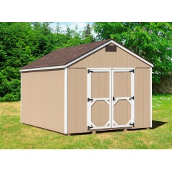 EZ-Fit Cornerstone 10' X 16' Wood Shed Kit (ez_cornerstone1016)