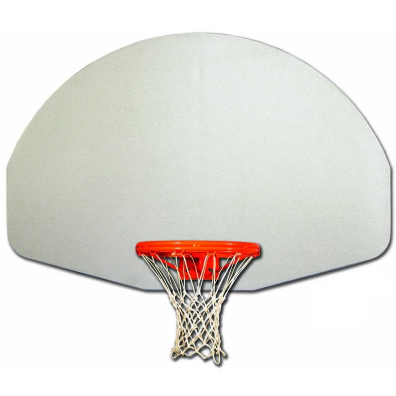 Gared Fan-Shape Natural Aluminum Basketball Backboard (1701)