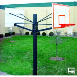 Gared Endurance Dual Steel Playground Basketball System (GP205G60)