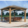 Handy Home Brezina 12x12 Pavilion Gazebo Kit (19360-6)