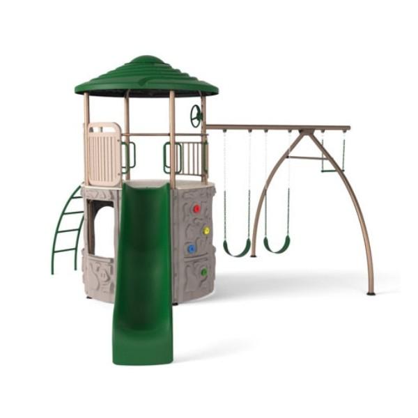 Lifetime Adventure Tower Swing Set Earthtone 90440