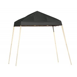 Shelter Logic 8x8 Pop-Up Canopy - Black (22573)