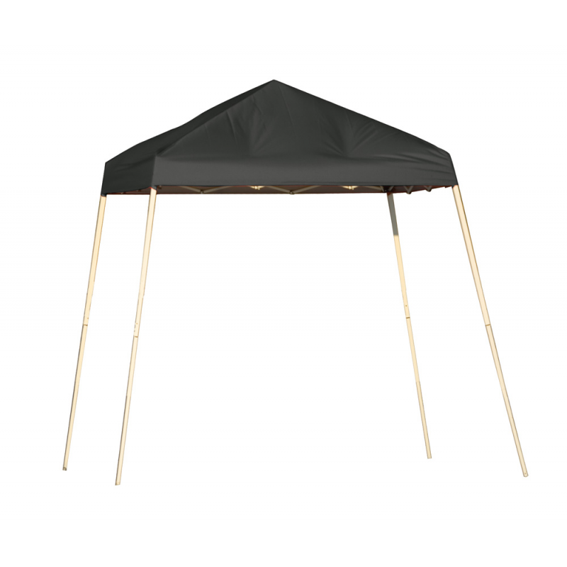 Shelter Logic 8x8 Pop-Up Canopy - Black (22573)