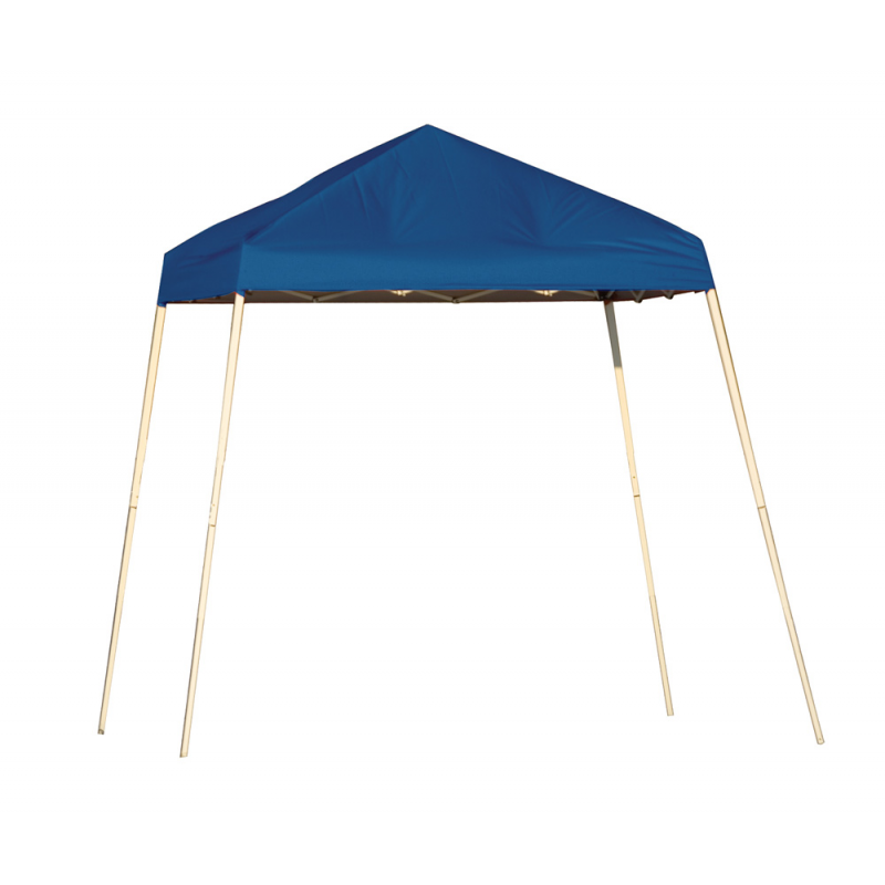 Shelter Logic 8x8 Slant Leg Pop-up Canopy - Blue (22568)
