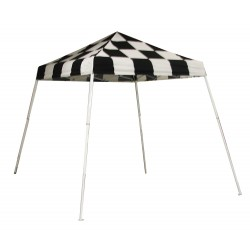 Shelter Logic 8x8 Slant Leg Pop-up Canopy - Checkered (22579)