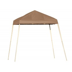 Shelter Logic 8x8 Slant Leg Pop-up Canopy - Bronze (22574)