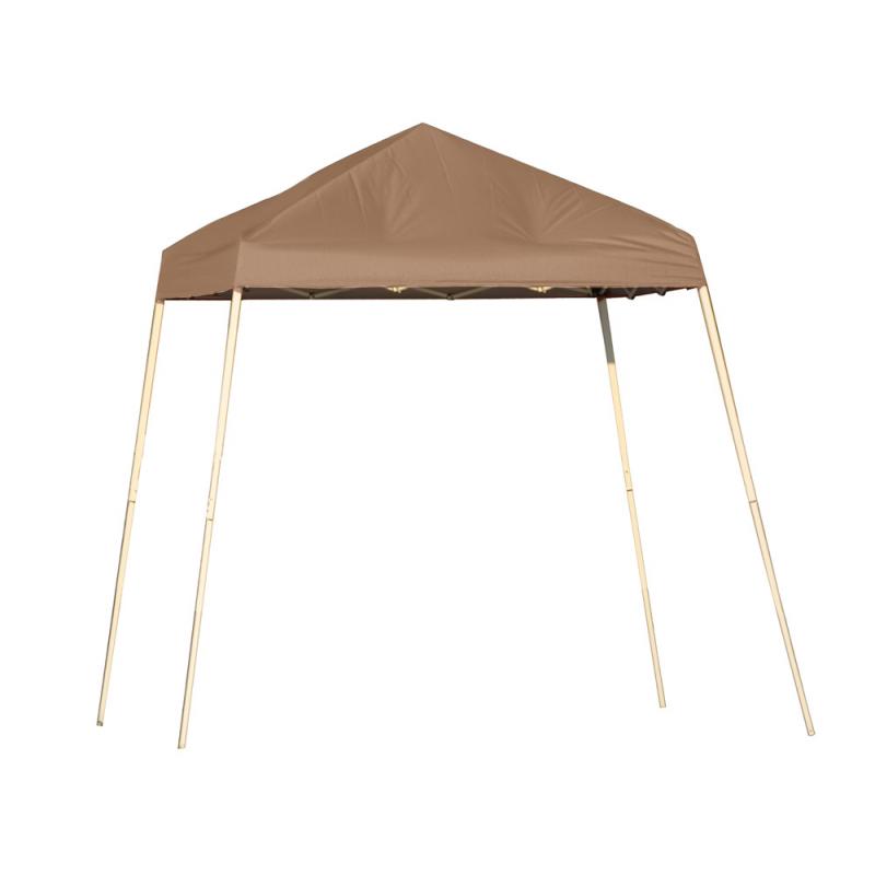 Shelter Logic 8x8 Slant Leg Pop-up Canopy - Bronze (22574)
