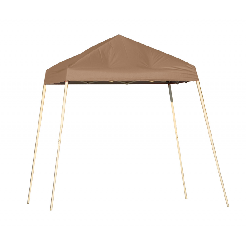 ShelterLogic 8x8 Slant Leg Pop-up Canopy - Bronze (22574)