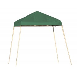 Shelter Logic 8x8 Slant Leg Pop-up Canopy - Green (22572)