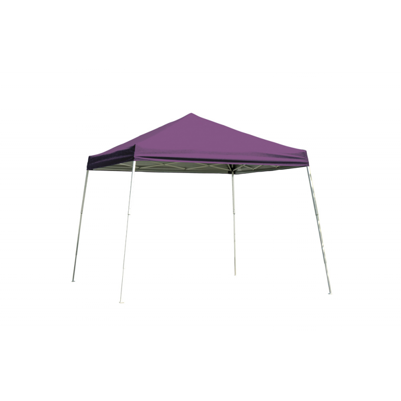 Shelter Logic 8x8 Slant Leg Pop-up Canopy - Purple (22701)