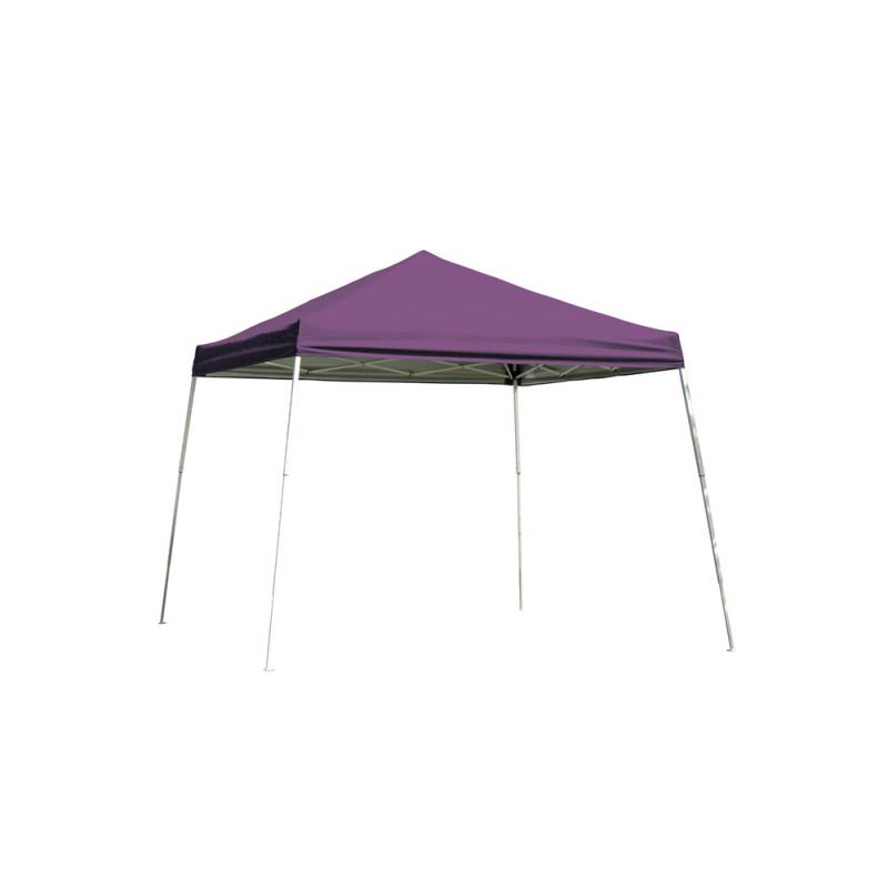 ShelterLogic 8x8 Slant Leg Pop-up Canopy - Purple (22701)