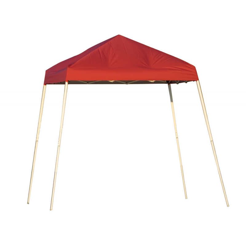 Shelter Logic 8x8 Slant Leg Pop-up Canopy - Red (22578)