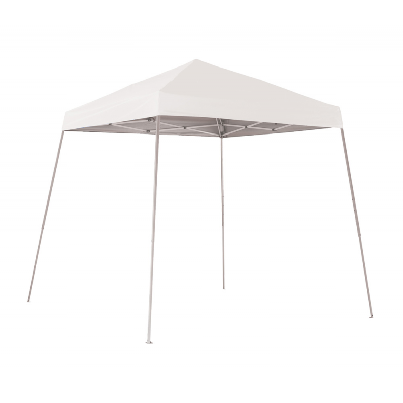 Shelter Logic 8x8 Slant Leg Pop-up Canopy - White (22571)