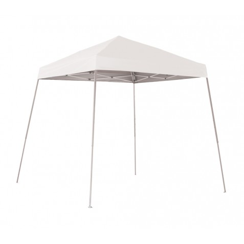 ShelterLogic 8x8 Slant Leg Pop-up Canopy - White (22571)