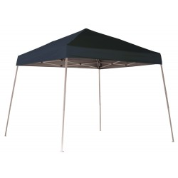 ShelterLogic 10x10 Slant Leg Pop-up Canopy - Black (22575)