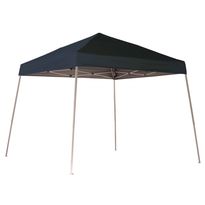 Shelter Logic 10x10 Slant Leg Pop-up Canopy - Black (22575)