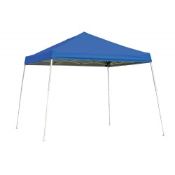 Shelter Logic 10x10 Slant Leg Pop-up Canopy - Blue (22576)