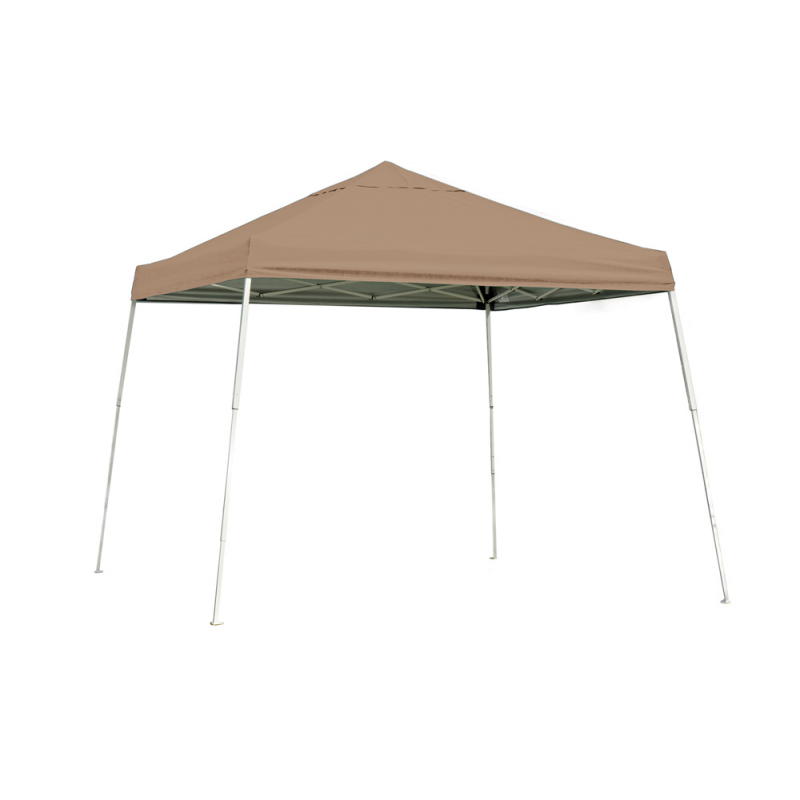 Shelter Logic 10x10 Slant Leg Pop-up Canopy - Bronze (22559)