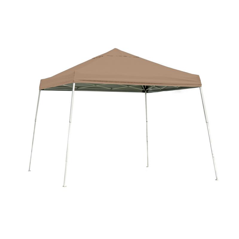 ShelterLogic 10x10 Slant Leg Pop-up Canopy - Bronze (22559)