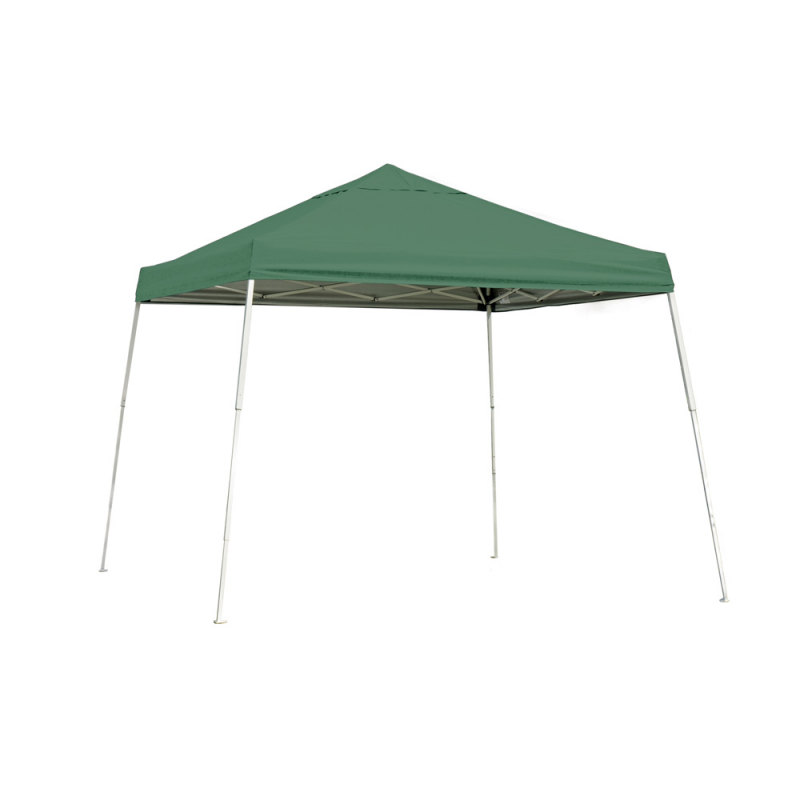 Shelter Logic 10x10 Slant Leg Pop-up Canopy - Green (22557)