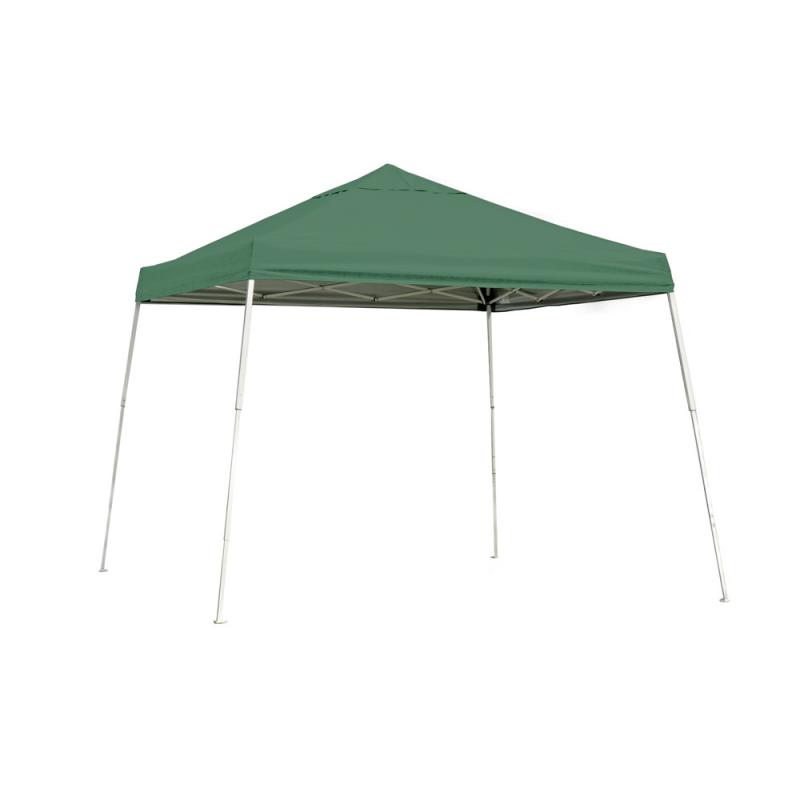 ShelterLogic 10x10 Slant Leg Pop-up Canopy - Green (22557)