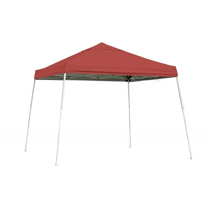 Shelter Logic 10x10 Slant Leg Pop-up Canopy - Red (22556)