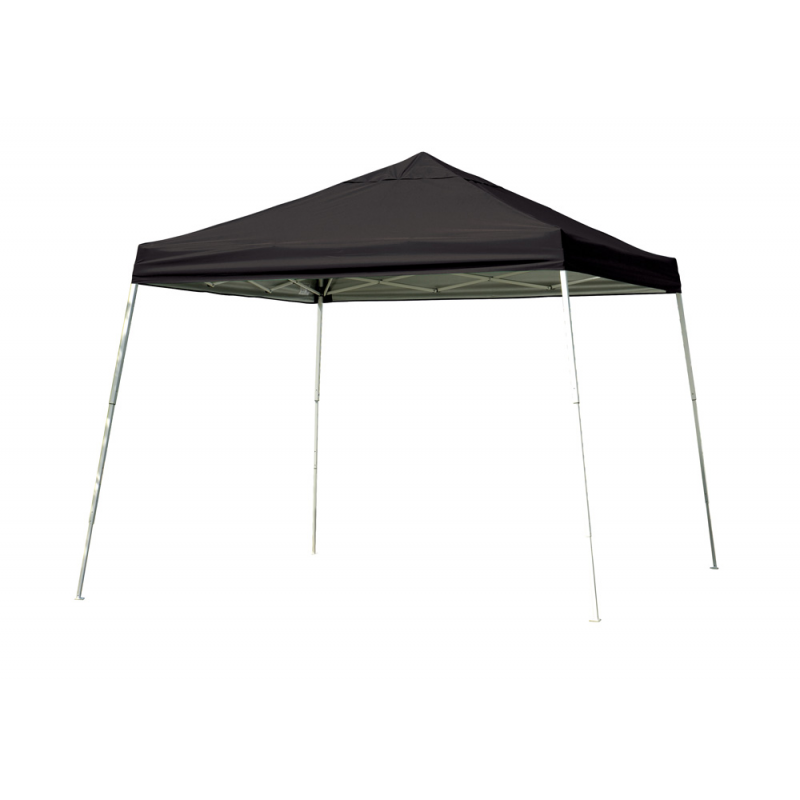 Shelter Logic 12x12 Slant Leg Pop-up Canopy - Black (22547)