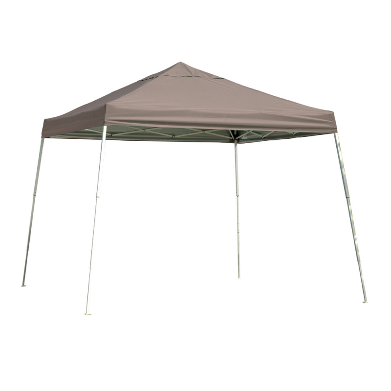 Shelter Logic 12x12 Slant Leg Pop-up Canopy - Bronze (22548)