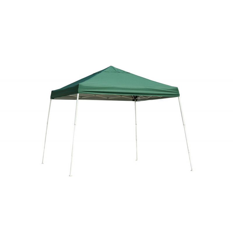 Shelter Logic 12x12 Slant Leg Pop-up Canopy - Green (22589)