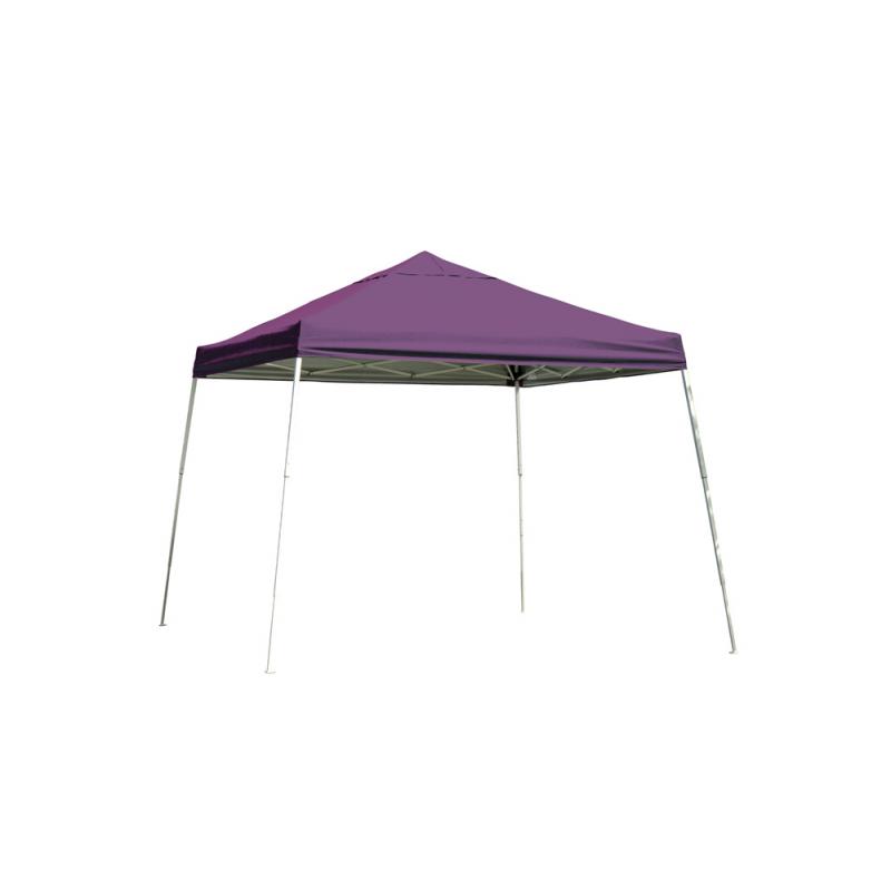 Shelter Logic 12x12 Slant Leg Pop-up Canopy - Purple (22706)