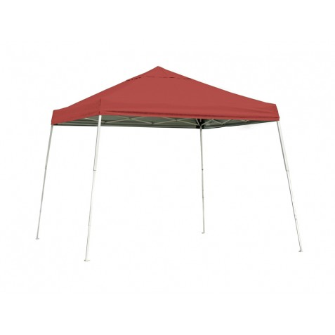 Shelter Logic 12x12 Slant Leg Pop-up Canopy - Red (22545)