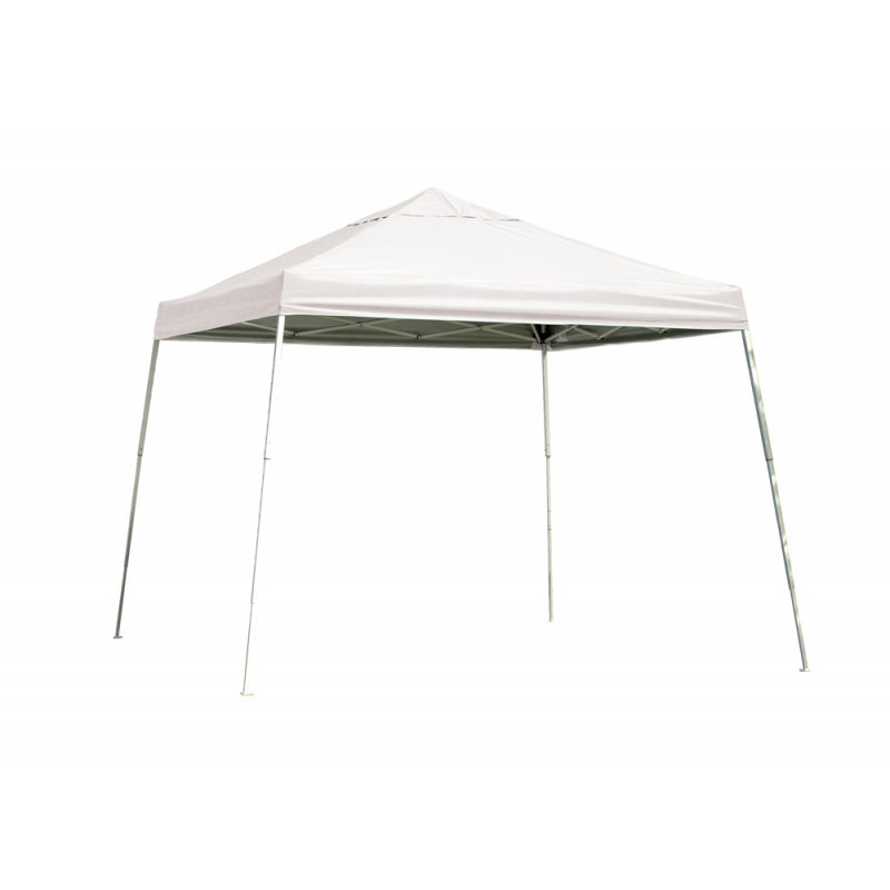 Shelter Logic 12x12 Slant Leg Pop-up Canopy - White (22544)