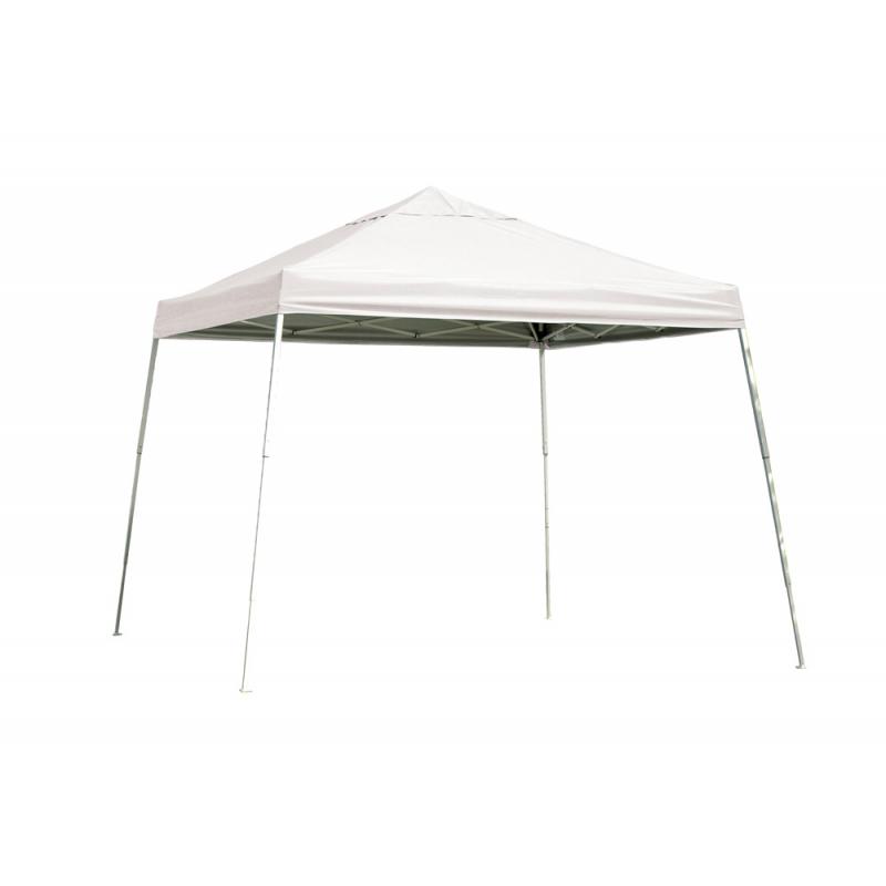 ShelterLogic 12x12 Slant Leg Pop-up Canopy - White (22544)