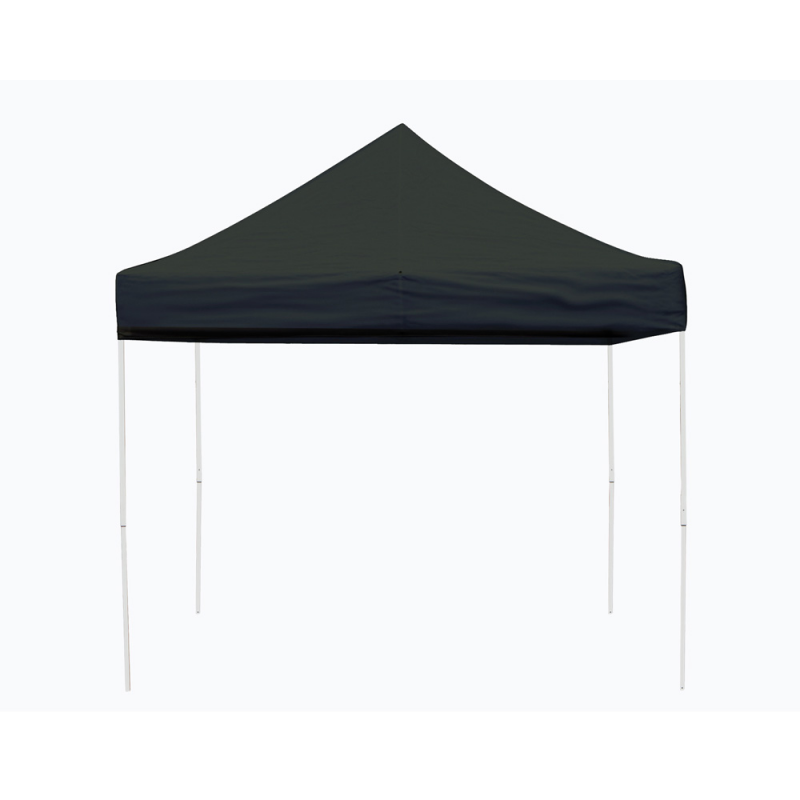 Shelter Logic 10x10 Straight Leg Pop-up Canopy - Black (22585)