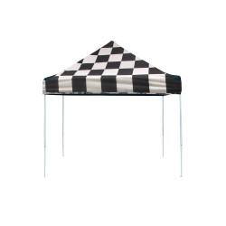 ShelterLogic 10x10 Straight Leg Pop-up Canopy - Checkered (22565)