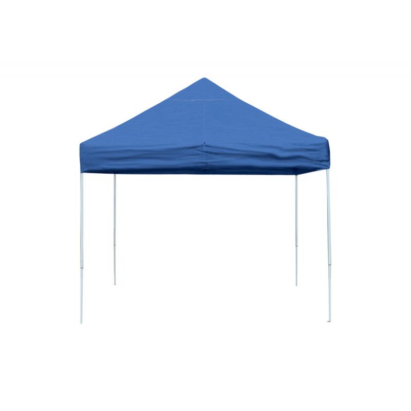 ShelterLogic 10x10 Straight Leg Pop-up Canopy - Blue (22562)